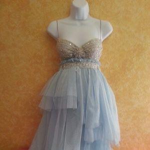 Something Blue Sex & The City Boho Babydoll Dress